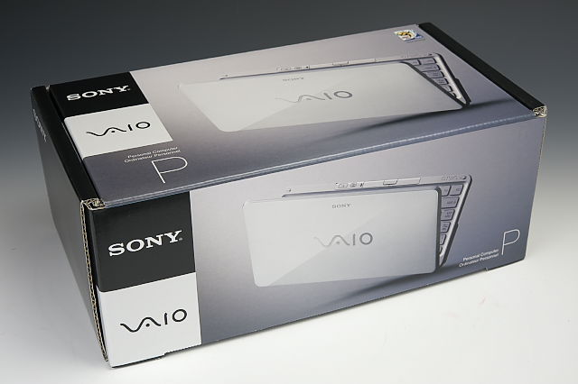 [PCレビュー] SONY VAIO Type P (VGN-P90NS)